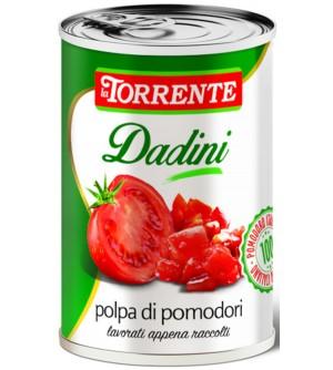 LA TORRENTE Krájená rajčata 400 g