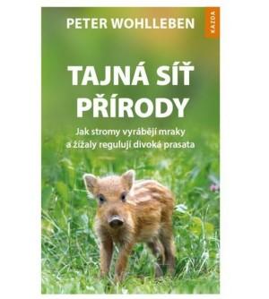 Kniha Tajna sit prirody Peter Wohlleben